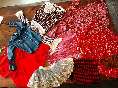 Lot Of Girls 5t Jelly Pug, Old Navy Ect  Outfits