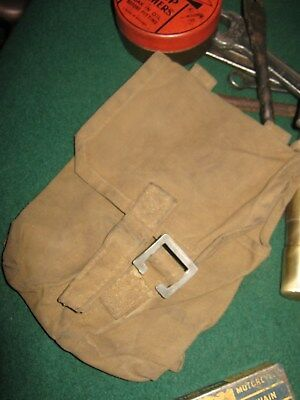 Bsa Bantam Motorcycle Vintage Tool Bag - Or Russian Army Grenade Pouch