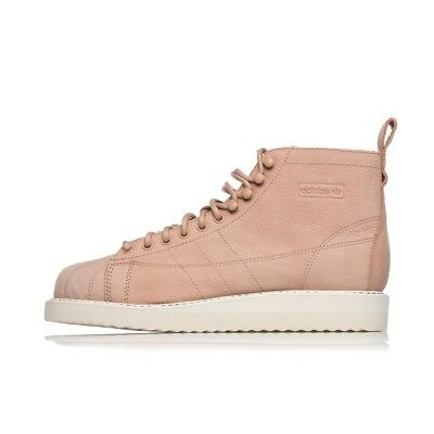online store 4a54c bed7c ADIDAS WOMENS SUPERSTAR BOOT B37816 pink leather boot
