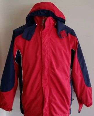 7a99cb917 LANDS END BOY stormer jacket size 5-6 -  13.00