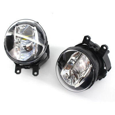 PAIR CLEAR BRIGHT LED FOG LIGHTS FOR LEXUS TOYOTA 81210-48050 81220-48050