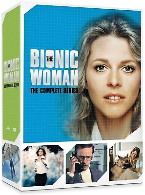 The Bionic Woman: Complete Series - All Seasons 1 2 3 (DVD, 2015, 14-Disc Set)