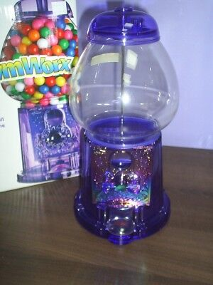 Best Christmas Gift New Purple Acrylic GumBall Machine with free ford gumballs