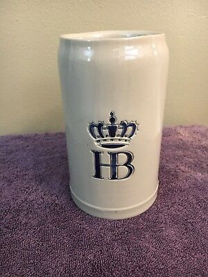 Hofbrauhaus 1L Beer Stein Mug Made In Germany HB great condition
