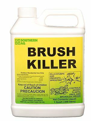 Southern Ag 01113 Brush Killer (Contains 8.8% Triclopyr), 32oz - 1 Quart