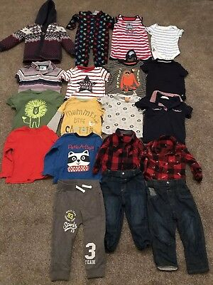 Baby Boys 12-18 Months Clothes Bundle Nutmeg, George