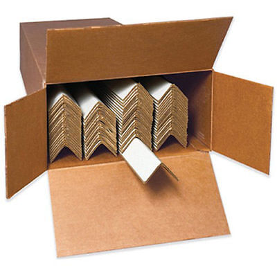 "Medium-Duty Edge Protectors by the Case - 12x2x2"" - Case of 320, Lot of 1"