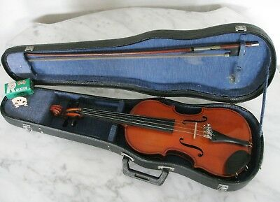 Quality 1/8 SKYLARK VIOLIN with BOW & Hard CASE suit Beginner age 4-6 years
