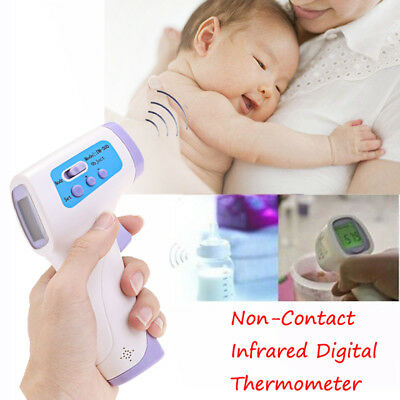 Non-Contact LCD Digital Temperature Tester Infrared Thermometer Gun Shape