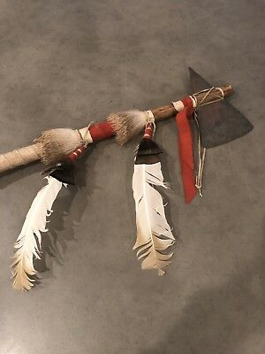 Antique Native American All Original War Axe Tomahawk.. Absolutely Beautiful!