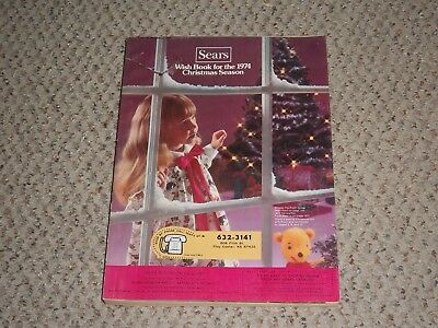 "1974 Sears ""Wish Book"" Christmas Catalog - 593 pages of Trains, Slot Cars, Tonka"