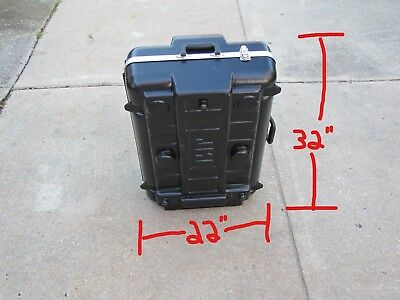 """JMI Telescope Hard Carrying Case with Wheels - Fits 8"""" LX-200 Scopes and More"""