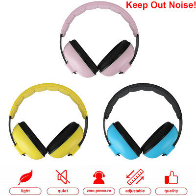 BABY Childs Ear Defenders Earmuffs Protection 3 COLOURS 3months+ Boys Girls Nice