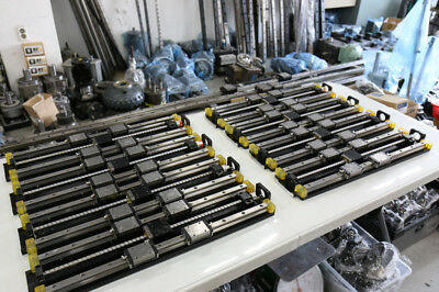 Used Linear Actuator, Total Length 630mm, Stroke 400mm, 1Pcs