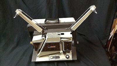 Singer 2110 Insta-Load 16Mm Film Movie Projector  With Sound
