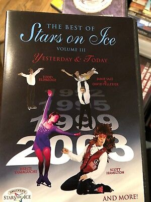 THE BEST OF STARS ON ICE Volume III Yesterday and Today DVD Ice Skating Dancing