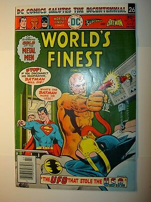 World's Finest #239 FN-,#241 FN,250 VF,265 FN/VF,1976,Batman & Superman lot of 4