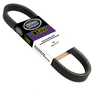 Ultimax Max Drive Belt - 1 1/4in. x 43 1/2in. For 1970 Yamaha SW396~Carlisle
