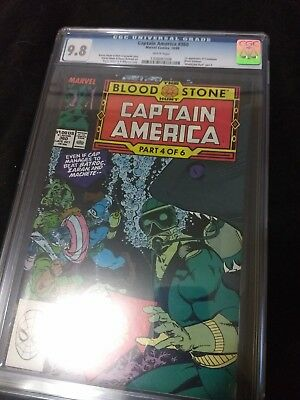 Captain America #360 CGC 9.8 first appearance of Crossbones