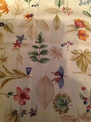 Longaberger Set of 2 Fabric Napkins - Botanical Fields