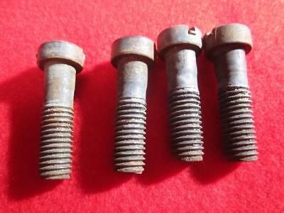 4 Singer Treadle  Sewing Machine Frame Or Base Bolts
