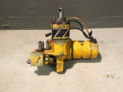 meyer snow plow e60 e-60 hydraulic plow pump untested  good case  missing