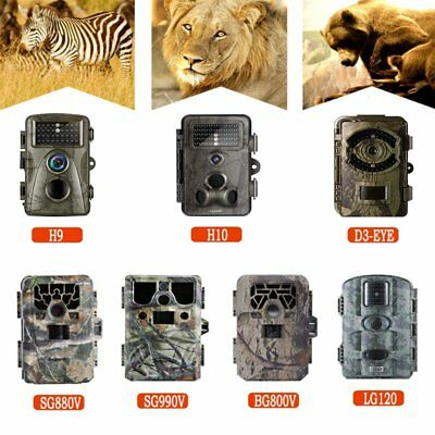 LESHP 12-16MP Game Trail Camera 1080P Video Wildlife IR 75FT Hunting Camera Cam