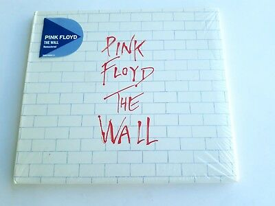 Pink Floyd The Wall 2CD Remastered Tri-fold Cover 2011 Brand New Sealed