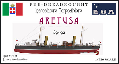 resin//multimedia kit 1//350 scale Italian Torpedo Cruiser ARETUSA