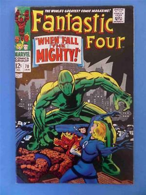 FANTASTIC FOUR 70 1968 Android Mad Thinker!