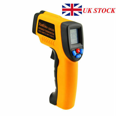 1pc Handheld LCD Digital Thermometer Temperature Infrared Non-Contact Laser Tool