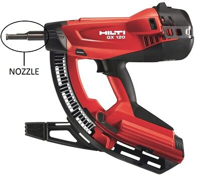 HILTI Nozzle / Fastener Guide for GX 120 Nail Gun, Tool Part