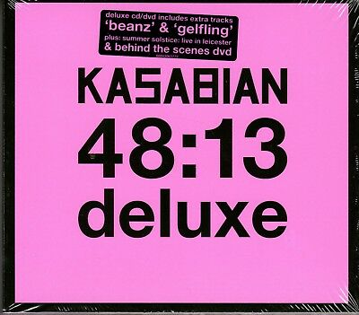 Kasabian. 48:13. De Luxe.  Brand New  Cd And Dvd Album.