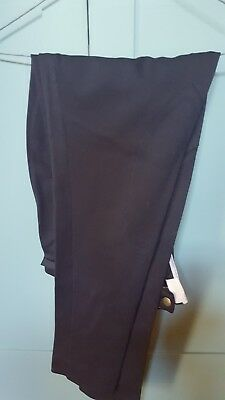 ladies black horseriding breeches, Ascot  size 18, lovely style