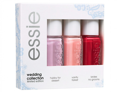 Essie Wedding Collection 3 Nail Polish Limited Edition Set £2.99 Free Post !!!