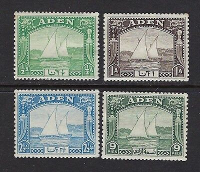 Aden 1937 Stamps A  British  Coloniescv$20+ (C617)