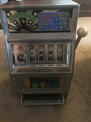 Waco Casino King Vintage Toy Slot Machine Made In Japan