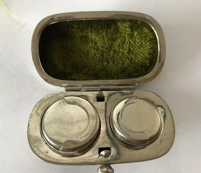 Antique Victorian Silver Plated Sovereign Holder @ 1900