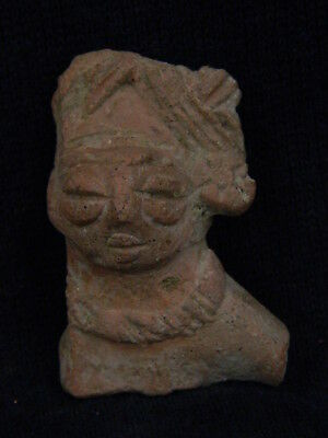 Ancient Teracotta Mother Goddess Torso Indus Valley 600 BC #TR5931