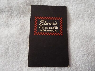 Elmer's Little Black Book, Ralston-Purina, 1944 Rationing