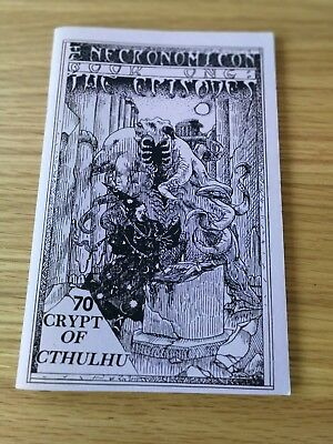 Crypt Of Cthulhu 70 The Necronomicon - Book One - The Episodes - H P Lovecraft