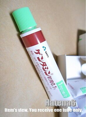 1 Tube of Gentacin 0.1 % MSD Antibiotic Ointment Brand Name First Aid Ointment