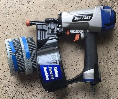 """Duo-Fast **LXT** Coil Nailer, 1-1/2 to 2-1/2"""" - NAILS included"""