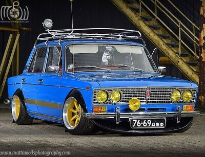 Stunning Mag Featured 1976 Lada 1500s VAZ 2103 Ziguli Air Ride  Show Car 136bhp