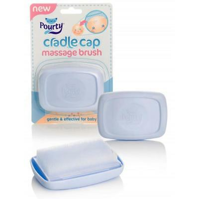 Pourty Baby Cradle Cap Massage Brush Fast Delivery