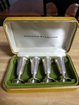 Gorham Sterling Cordial Cups set of 4