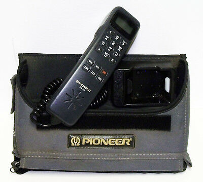 Vintage Pioneer PCM-300 Cell Phone in Original Bag Case