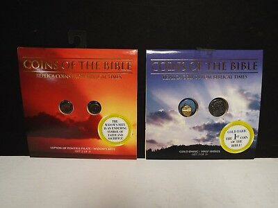 Replica Coins of the Bible - 2 Sets - See Description