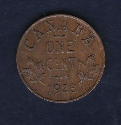 1923 Canada small Cent w/ George V- key date, inv#1275
