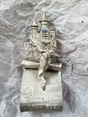 Scroll Castle Pewter Figurine Collectable Ray Lamb US Made no imperfections